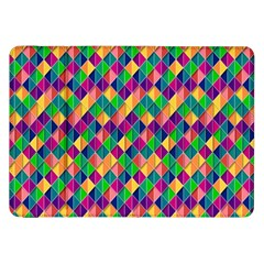 Background Geometric Triangle Samsung Galaxy Tab 8 9  P7300 Flip Case
