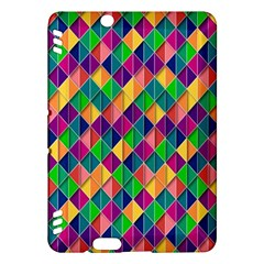 Background Geometric Triangle Kindle Fire Hdx Hardshell Case by Nexatart