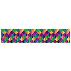 Background Geometric Triangle Small Flano Scarf