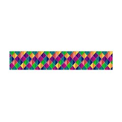 Background Geometric Triangle Flano Scarf (mini)