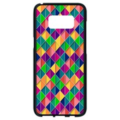 Background Geometric Triangle Samsung Galaxy S8 Black Seamless Case