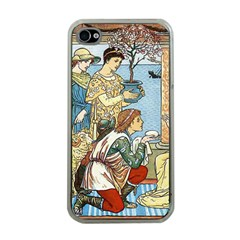 Vintage Princess Prince Old Apple Iphone 4 Case (clear)