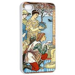 Vintage Princess Prince Old Apple Iphone 4/4s Seamless Case (white)
