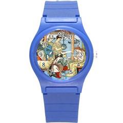 Vintage Princess Prince Old Round Plastic Sport Watch (s)