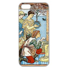 Vintage Princess Prince Old Apple Seamless Iphone 5 Case (clear)