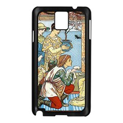 Vintage Princess Prince Old Samsung Galaxy Note 3 N9005 Case (black)