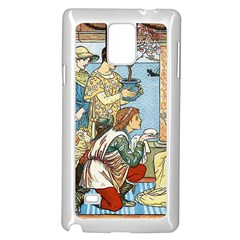 Vintage Princess Prince Old Samsung Galaxy Note 4 Case (white)