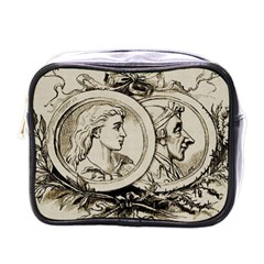 Young Old Man Weird Funny Mini Toiletries Bags