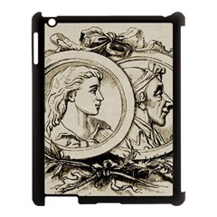 Young Old Man Weird Funny Apple Ipad 3/4 Case (black)