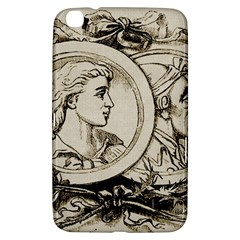 Young Old Man Weird Funny Samsung Galaxy Tab 3 (8 ) T3100 Hardshell Case