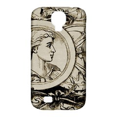Young Old Man Weird Funny Samsung Galaxy S4 Classic Hardshell Case (pc+silicone)