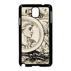 Young Old Man Weird Funny Samsung Galaxy Note 3 Neo Hardshell Case (black) by Nexatart