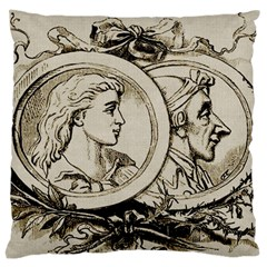 Young Old Man Weird Funny Standard Flano Cushion Case (two Sides)