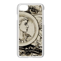 Young Old Man Weird Funny Apple Iphone 7 Seamless Case (white) by Nexatart