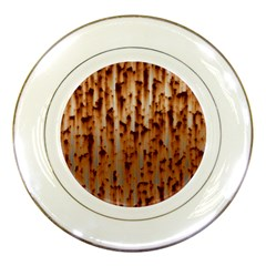 Stainless Rusty Metal Iron Old Porcelain Plates