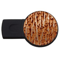 Stainless Rusty Metal Iron Old Usb Flash Drive Round (4 Gb)