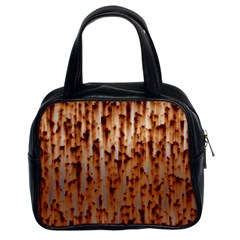 Stainless Rusty Metal Iron Old Classic Handbags (2 Sides)