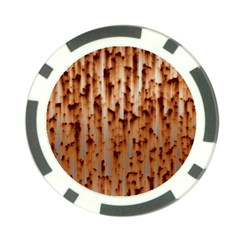 Stainless Rusty Metal Iron Old Poker Chip Card Guard (10 Pack)