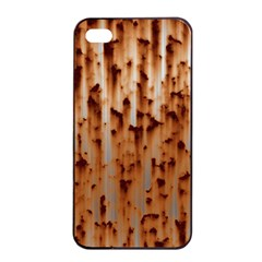 Stainless Rusty Metal Iron Old Apple Iphone 4/4s Seamless Case (black)