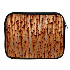Stainless Rusty Metal Iron Old Apple Ipad 2/3/4 Zipper Cases