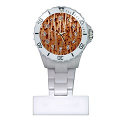 Stainless Rusty Metal Iron Old Plastic Nurses Watch