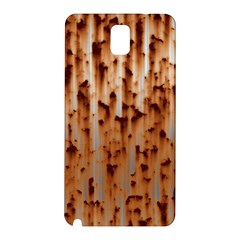 Stainless Rusty Metal Iron Old Samsung Galaxy Note 3 N9005 Hardshell Back Case