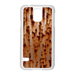 Stainless Rusty Metal Iron Old Samsung Galaxy S5 Case (white)