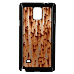 Stainless Rusty Metal Iron Old Samsung Galaxy Note 4 Case (black)