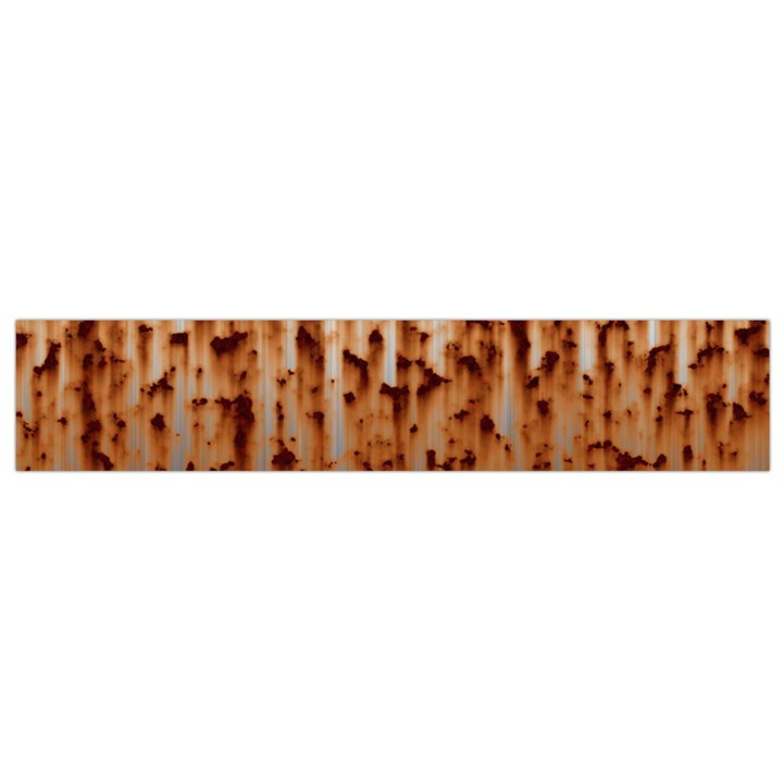 Stainless Rusty Metal Iron Old Small Flano Scarf