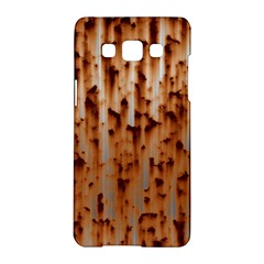 Stainless Rusty Metal Iron Old Samsung Galaxy A5 Hardshell Case