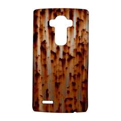 Stainless Rusty Metal Iron Old Lg G4 Hardshell Case by Nexatart