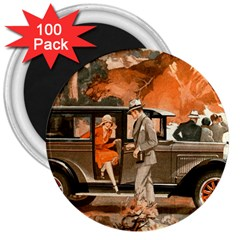 Car Automobile Transport Passenger 3  Magnets (100 Pack)