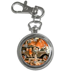 Car Automobile Transport Passenger Key Chain Watches