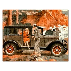 Car Automobile Transport Passenger Rectangular Jigsaw Puzzl by Nexatart