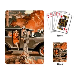Car Automobile Transport Passenger Playing Card