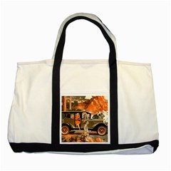 Car Automobile Transport Passenger Two Tone Tote Bag