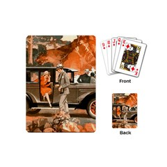 Car Automobile Transport Passenger Playing Cards (mini)