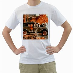 Car Automobile Transport Passenger Men s T Shirt (white)