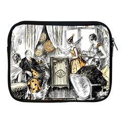 Vintage People Party Celebrate Apple Ipad 2/3/4 Zipper Cases