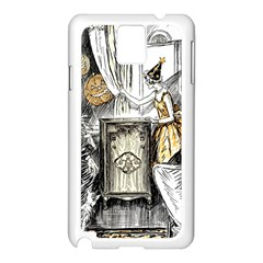 Vintage People Party Celebrate Samsung Galaxy Note 3 N9005 Case (white)