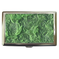 Green Geological Surface Background Cigarette Money Cases