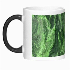 Green Geological Surface Background Morph Mugs
