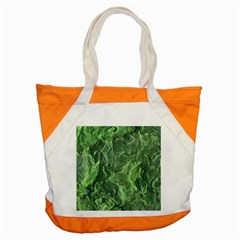 Green Geological Surface Background Accent Tote Bag