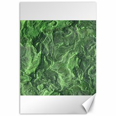Green Geological Surface Background Canvas 12  X 18