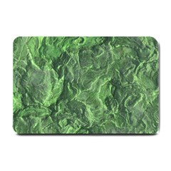 Green Geological Surface Background Small Doormat