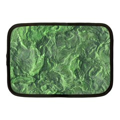 Green Geological Surface Background Netbook Case (medium)