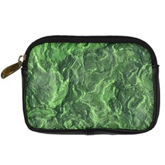 Green Geological Surface Background Digital Camera Cases