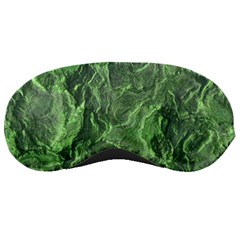 Green Geological Surface Background Sleeping Masks