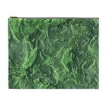 Green Geological Surface Background Cosmetic Bag (XL) Front