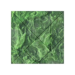 Green Geological Surface Background Acrylic Tangram Puzzle (4  X 4 )